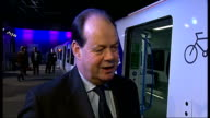 New Thameslink trains unveiled ExCel Centre INT Stephen Hammond MP interview SOT this is part of what this govt is doing to address those issues /...