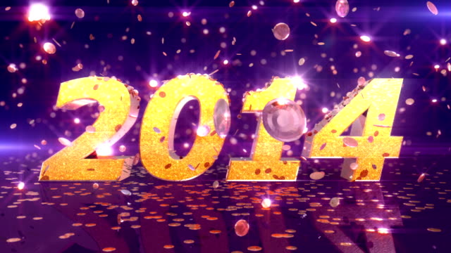 HD: Neues Jahr 2014-Animation