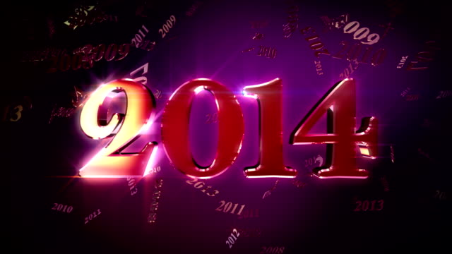 HD: New Year 2014 Lopable Background
