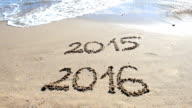 New Year at the Beach