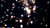 New Year Confetti and Sparkle