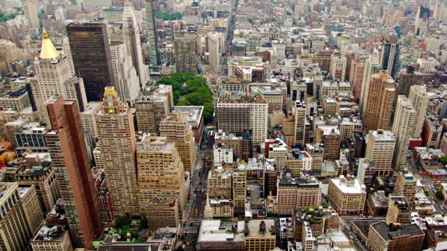 Veduta aerea di New York