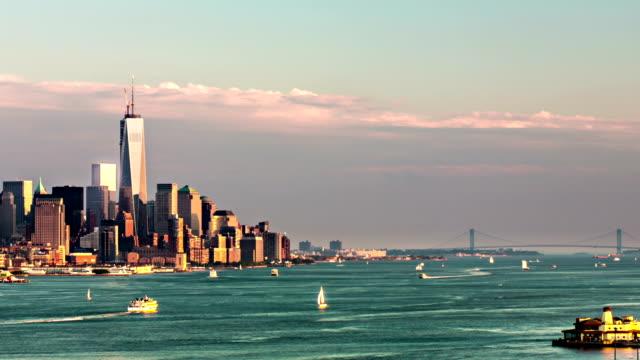 New York bay day to night timelapse VETTA