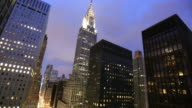 New York City: 42nd Street, Grand Central and Chrysler building