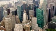 New York city aerial manhattan