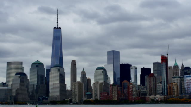 New York City before a storm