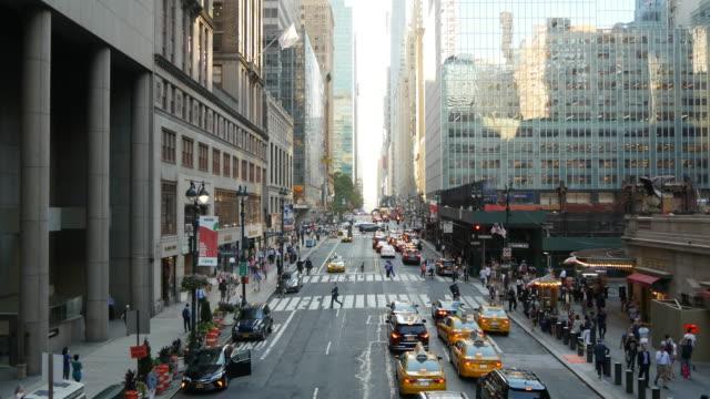 new york city landmarks background. city business district. modern metropolis scenery