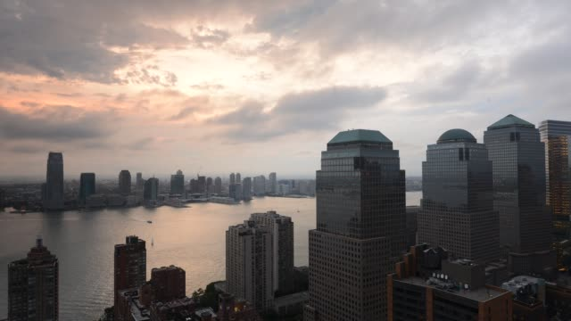 New York City - Lower Manhattan - Fast Motion Time Lapse