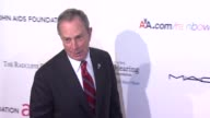 New York City Mayor Michael Bloomberg at the 8th Annual Elton John AIDS Foundation's 'An Enduring Vision' at New York NY