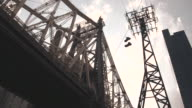 New York City - Queensboro Bridge - establishing shot - Summer