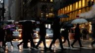 New York City Rainy Streets
