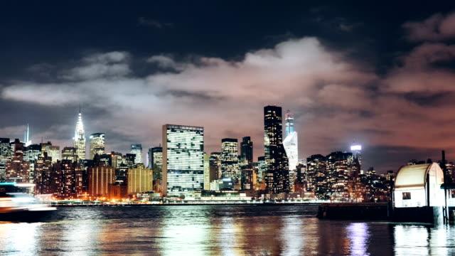 New York City Skyline von Long Island City