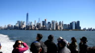 New York City Skyline in Day Time Including the One World Trade Center