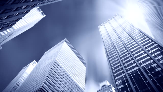 Nuovo York città grattacieli