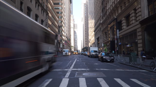 New York City Street Timelapse 4K