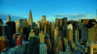 New York City bei Sonnenaufgang