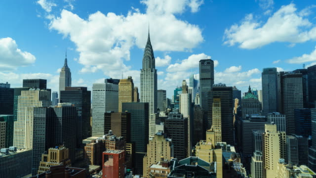 New York cityscape time lapse.