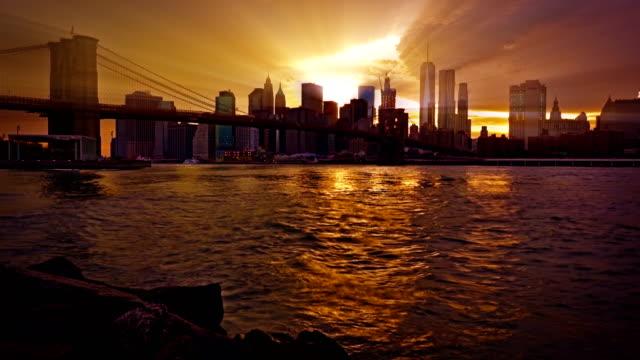New York Financial District von Manhattan