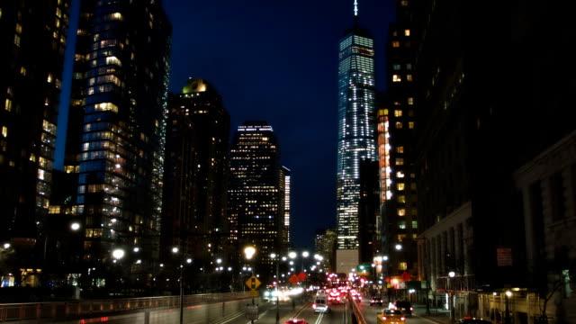 New york la freedom tower de nuit film vid o getty images for Exterieur nuit film