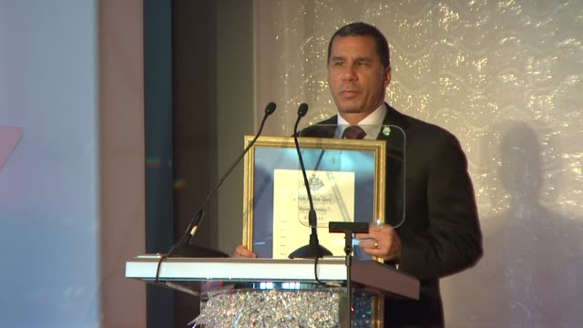 New York Govenor David Paterson presents the dedication and honoring of the 40th Anniversary of Essence magazine and wishes them well into their...