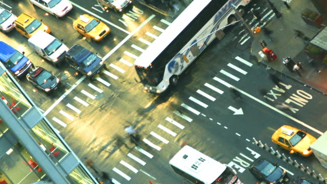 New York Intersection Time Lapse