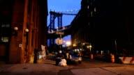 New York, Manhattan Bridge , DUMBO