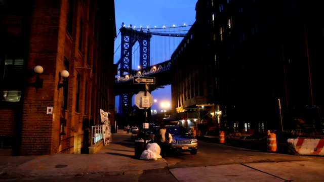 New York, Manhattan Bridge , DUMBO