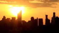 NY Sonnenuntergang,