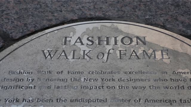 New York New York US March 25th 2015 Photographer Ara Ayer Exterior shots of the Garment District in midtown Manhattan New York Close up shots of the...