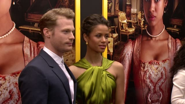 """""""BELLE"""" New York Premiere Arrivals at The Paris Theater on April 28 2014 in New York City"""