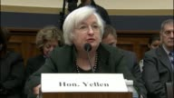 New York Rep Carolyn Maloney seek clarification from Federal Reserve Chair Janet Yellen about the impact of financial markets overseas on US monetary...