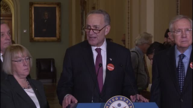New York Senator Chuck Schumer says that student loan debt hangs like an anchor around graduates such as his invited guests to the 2016 State of the...