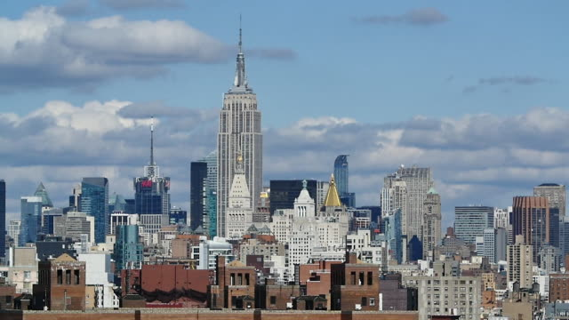 New York slowmotion skyline