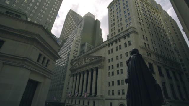 New York Stock Exchange - panning shot