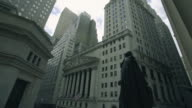 New York Stock Exchange - panning shot