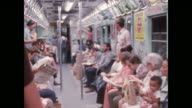 New York subway in the 1970s