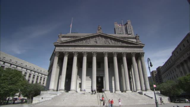 WS New York Supreme Court building / New York City, New York, USA
