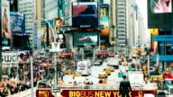 New York Times Square Zeitraffer