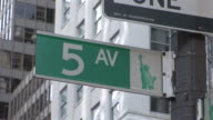 New YorkView of a signboard in New York United States