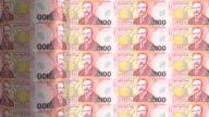 New Zealand dollar printing - animation