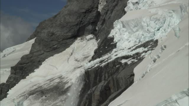 New Zealand; Southern Alps; Mount. Aspiring