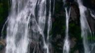 New Zealand Waterfall Close Up