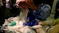 Newborn Baby at Hospital - HD