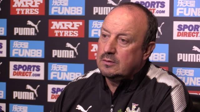Newcastle boss Rafael Benitez's prematch press conference ahead of Saturday's Premier League clash with Bournemouth