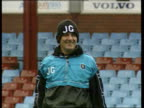 Newcastle United Search for New Manager London Selhurst Park John Gregory on pitch at training session