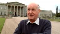 Sir John Hall interview ENGLAND Teeside Wynyard Hall EXT Sir John Hall interview SOT Thought appointment of Alan Shearer was April Fool / Talks about...