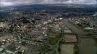 Newport  - Aerial View - Wales, City of Newport, United Kingdom
