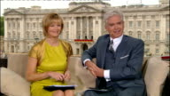 0900 1000 0901 ENGLAND London St Paul's Cathedral EXT Mary Nightingale interviews female Royal Navy sailor and member of Horseguards SOT Studio INT...