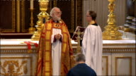1100 1200 Dr Rowan Williams reading blessing SOT