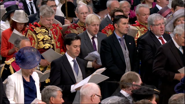 1100 1200 **Music heard SOT** Congregation singing 'O Praise ye the Lord' hymn SOT Princess Eugenie and Princess Anne Princess Royal singing Zara and...